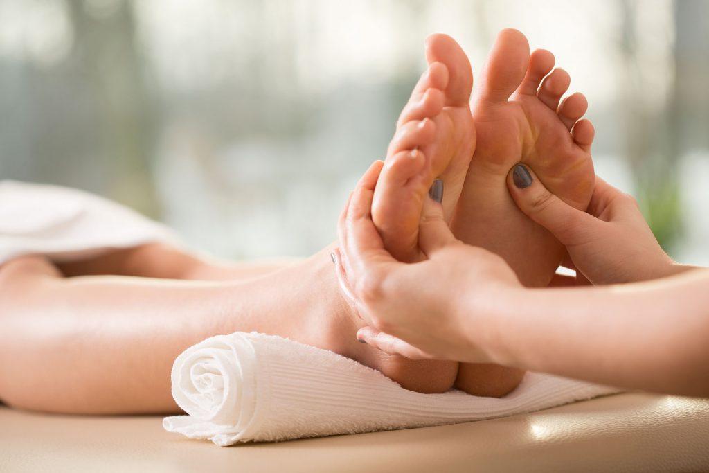 SPA pedikura z masažo stopal